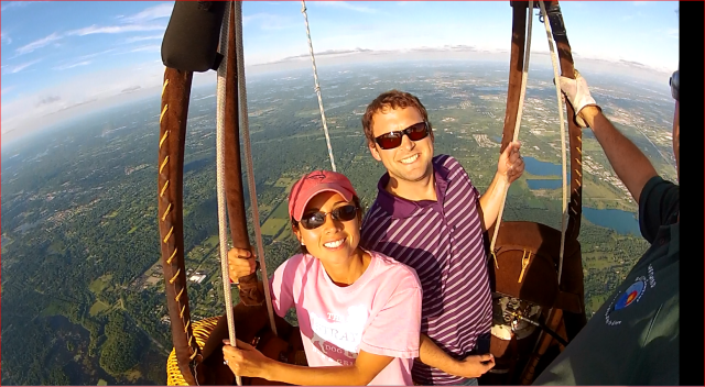 Best Engagement Idea Ever Propose In A Hot Air Balloon Over Michigan